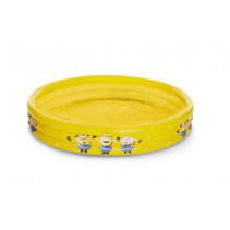 opblaaszwembad Minions 120 x 24 cm geel