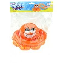 octopus ringgooien 20 cm oranje