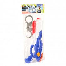 waterpistool Politie 40 cm junior blauw/wit 2-delig