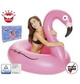 Happy People zwemband flamingo Wehncke 120 cm roze