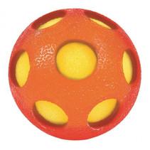 waterbal Bont junior 7 cm foam oranje/geel