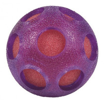 waterbal Bont junior 7 cm foam paars/oranje