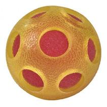 waterbal Bont junior 7 cm foam geel/rood