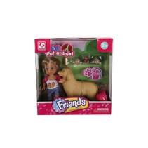 pop met hond 10 cm
