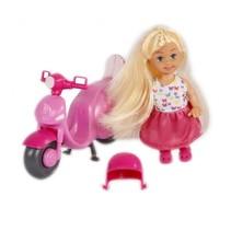 pop met motor 12 cm roze