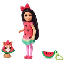tienerpop Chelsea 15 cm watermeloen 7-delig (GHV71)