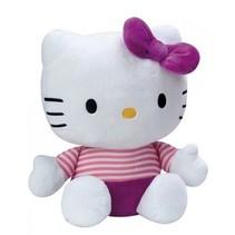 Hello Kitty knuffel Doll pluche meisjes paars 25 cm