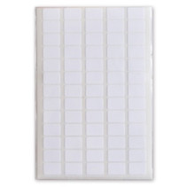 etiketten 12 x 8 mm papier wit 6 vellen à 65 stuks