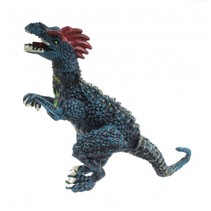 dinosaurus allosaurus blauw 9 cm