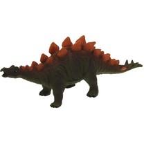 speelfiguur stegosaurus met geluid 45 cm donkergroen
