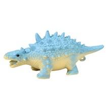 knijpfiguur dinosaurus blauw 14 cm