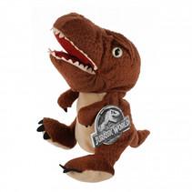 handpop T-Rex Jurassic World junior pluche bruin