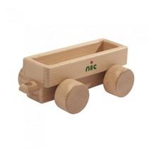 aanhanger zonder voertuig 16 cm blank hout