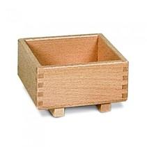 transportkist 8,5 cm blank hout