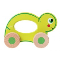 rollend dier schildpad 12 cm groen