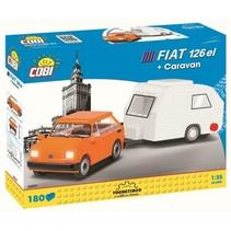 Youngtimer bouwpakket Fiat 126el 180-delig 24591