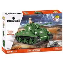 World of Tanks bouwpakket M4 Sherman 500-delig 3007A