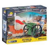 Historical bouwpakket Field Gun 61-delig 2979