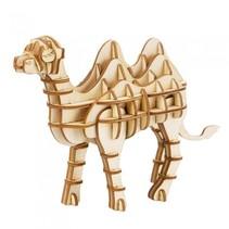 3D-puzzel Kameel hout 14,4 cm 62-delig