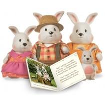 Hoppingood konijnen familie incl. voorleesboek