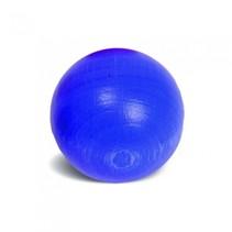 blauwe knikker 3 cm hout