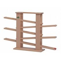 knikkerbaan Multitrack 45 cm blank hout