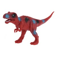 opgravingsset dinosaurus 4-delig rood