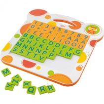 Magneetbord Letters En Cijfers 63-delig