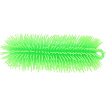fluffy worm 23 cm groen