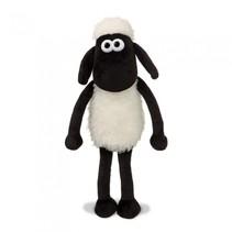 knuffel Shaun het schaap 20,5 cm wit/zwart