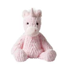 knuffel Adorables Unicorn meisjes 11,9 cm pluche roze