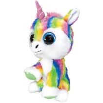 knuffel Lumo Unicorn Dream multicolor 15 cm
