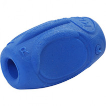 Rubberen greep 15 mm x 35 mm blauw