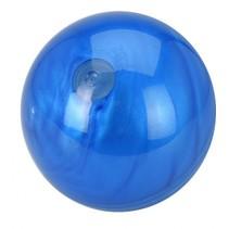 space bal met bewegend slijm blauw