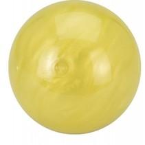 space bal met bewegend slijm geel