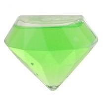 glitterslijm diamant 8 cm groen