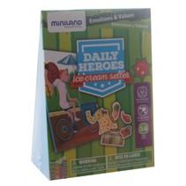 leerspel Daily Heroes - Ice Cream groen 3-delig