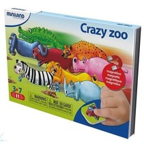 on the go magnetishc taal spel: crazy zoo