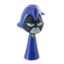 DC Comics Teen Titans Go! speelfiguur Raven paars 6 cm