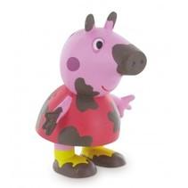 speelfiguur Peppa Pig: Peppa Pig Mud 6 cm roze