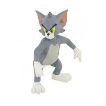 speelfiguur Tom & Jerry 'Angry' 6 cm grijs