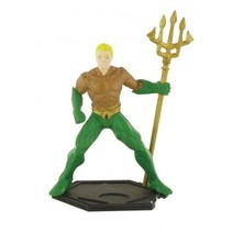 speelfiguur Justice League - Aquaman 9 cm groen