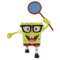 speelfiguur Spongebob Butterfly 7 cm geel