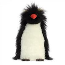 pinguïnknuffel Theo Rock Hopper 26,5 cm pluche wit/zwart