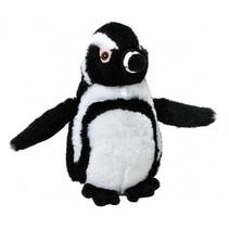 knuffel zwartvoetpinguïn Ecokins Mini junior 20 cm pluche wit/zwart