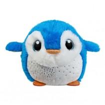 knuffel Sparkle Tales pinguïn Seaweed blauw/wit 12 cm