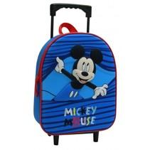 trolley-rugzak Mickey Mouse jongens 6 liter blauw