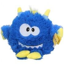 knuffel Monster junior pluche 21 cm donkerblauw