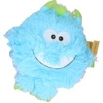knuffel Monster junior pluche 21 cm lichtblauw