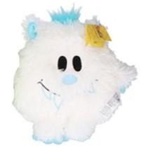 knuffel Monster junior pluche 21 cm wit